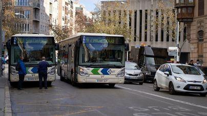 Los usuarios del autobús de Palma crecen un 24,8 por ciento en julio