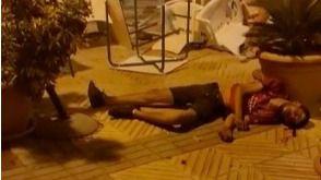 Las imágenes de la pelea entre más de 30 jóvenes en el Port de Alcúdia