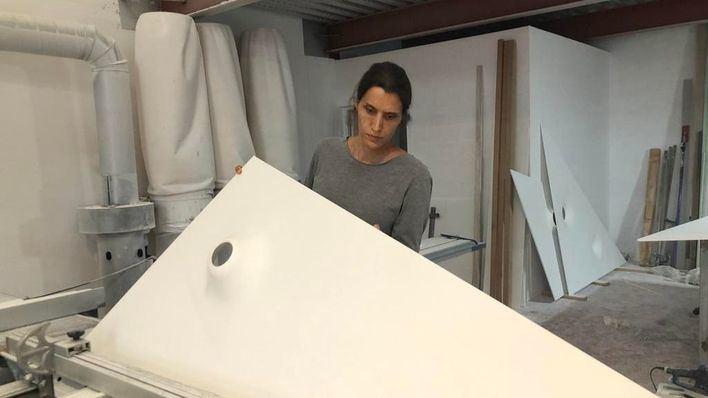 Adema, en la Nit de l'Art con Amparo Sard