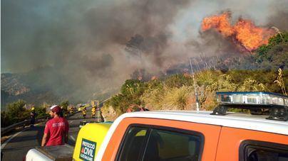 Los incendios forestales queman 90 hectáreas en Baleares en lo que va de año