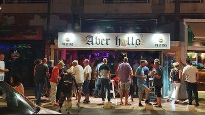 Desorden y descontrol en las cervecerías de 'calle de la cerveza'