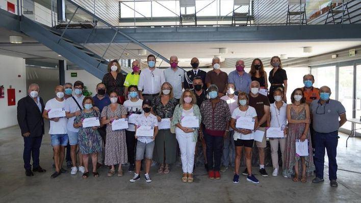Marratxí reconoce la labor de la Policía Local y Protección Civil durante la pandemia