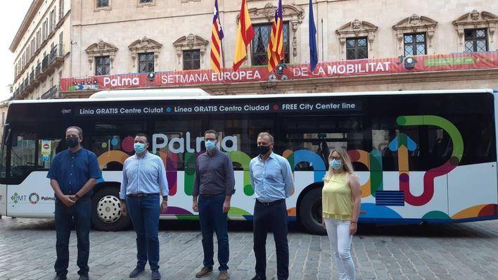 La línea 2 de la EMT, que recorre el centro de Palma, pasa a ser gratuita