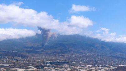 Emergencia en Canarias tras la erupción de un volcán en la isla de La Palma