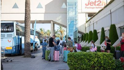 Uno de cada cuatro extranjeros que visitaron España en agosto voló a Baleares
