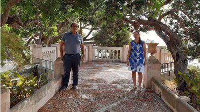 Los jardines de Natzaret en Palma, abren al público partir de este lunes