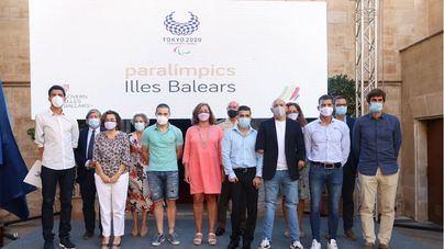 El Govern reconoce a los deportistas paralímpicos de Baleares que han participado en Tokio 2020