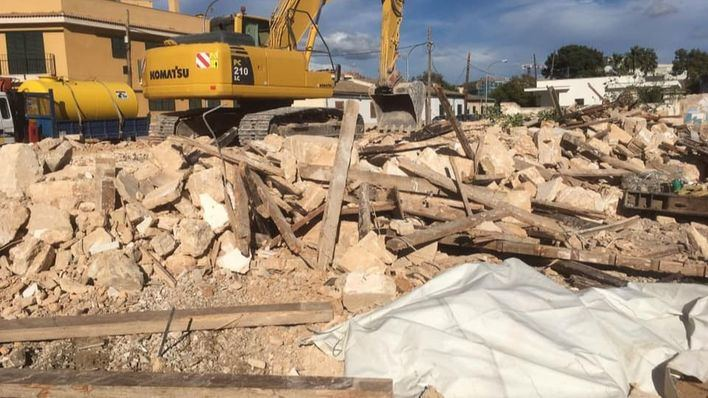 61 demoliciones por incumplimiento medioambiental en el primer semestre del año en Mallorca