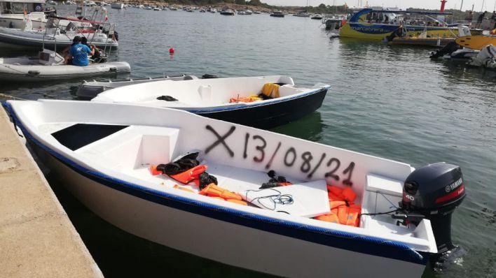 Detenidos otros tres patrones de patera en Baleares