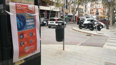 Palma prohíbe aparcar este miércoles a los no residentes dentro del anillo de Avenidas