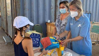 Más de 2.600 escolares de Baleares vulnerables reciben kits escolares de la Fundación 'la Caixa ' y CaixaBank
