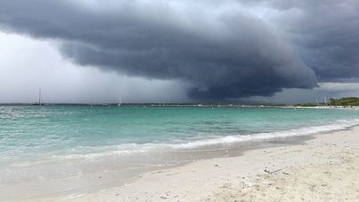 La DANA deja en Baleares tormentas muy fuertes
