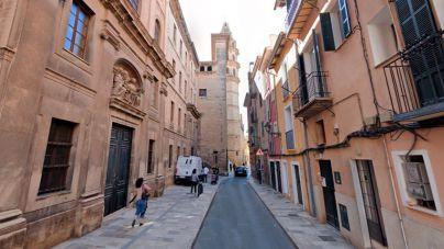 La calle Socors de Palma cambia el sentido de circulación
