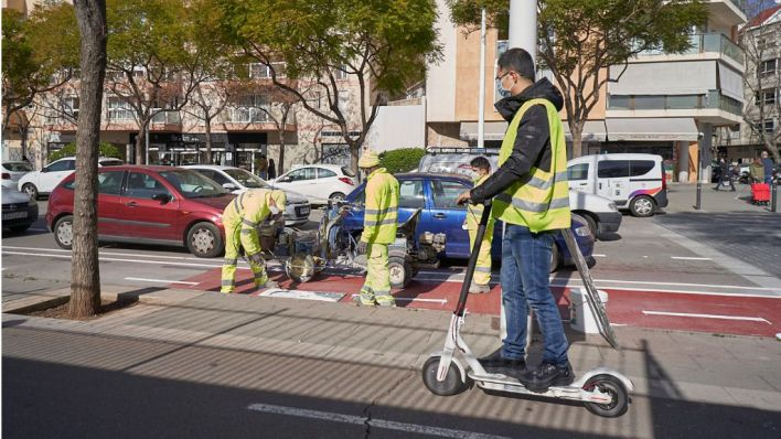 Tráfico endurece la normativa sobre los patinetes eléctricos