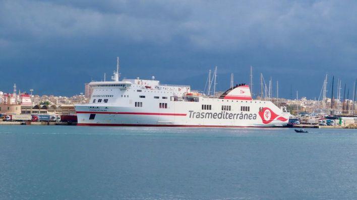 Trasmed abandera en España el buque Ciudad de Palma