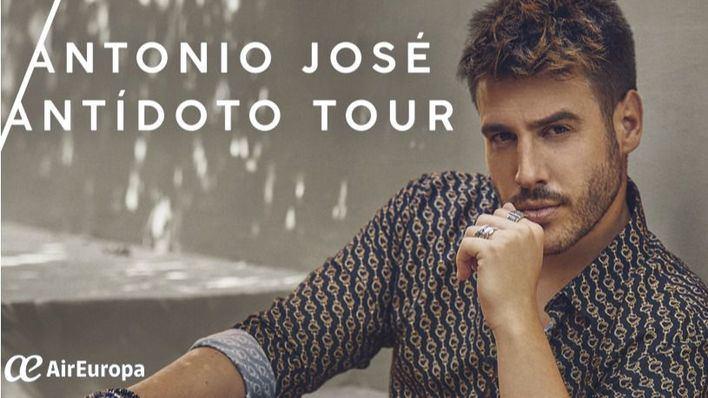 Antonio José llega al Auditorium de Palma con su 'Antídoto Tour'