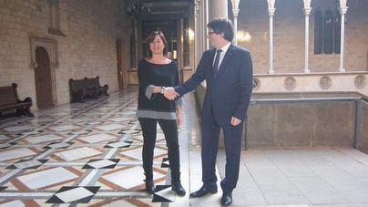 Armengol, sobre Puigdemont: 'Es un problema político que ha de resolverse desde la política'