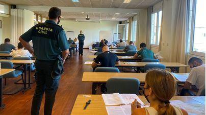 Un total de 441 personas opositan este fin de semana en Baleares para acceder a la Guardia Civil