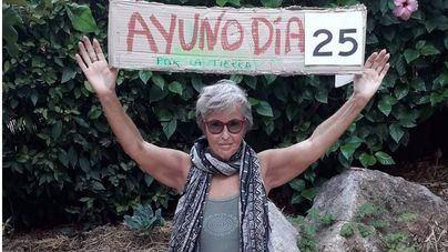 Dos activistas en huelga de hambre se van a Madrid para intentar reunirse con representantes del Gobierno