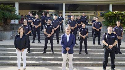 Toman posesión de sus cargos 15 nuevos policías locales en Calvià