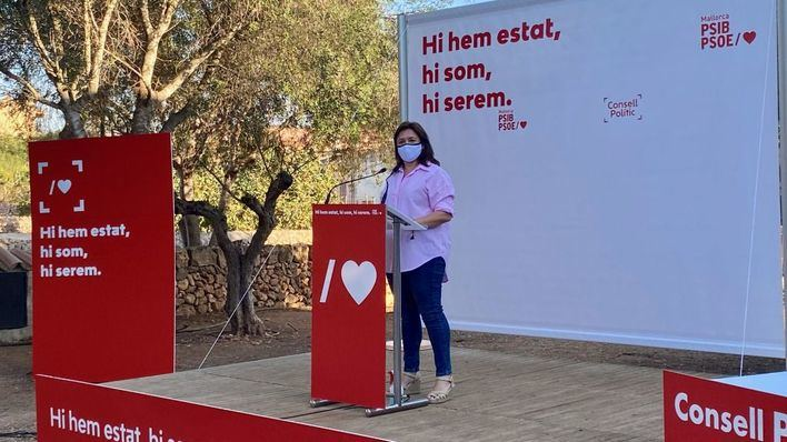 Mercedes Garrido no se presentará a la reelección como secretaria general de los socialistas de Mallorca