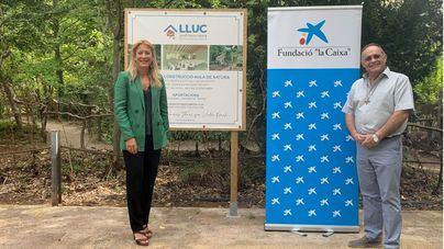 El jardín botánico del Santuari de Lluc será accesible al eliminar las barreras arquitectónicas