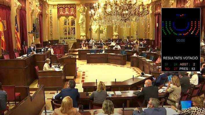 El Parlament rechaza reprobar a Montero, pero secunda las otras propuestas del PP