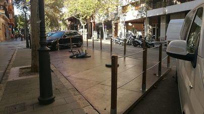 Adiós a las 1.002 terrazas en los aparcamientos públicos de Palma