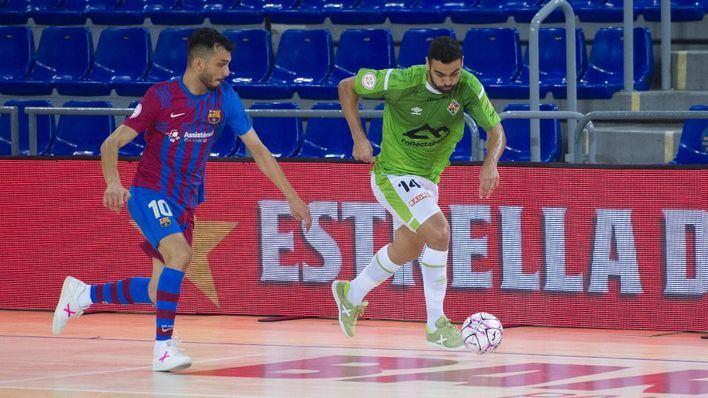 Pleno de victorias en la pretemporada del Palma Futsal tras imponerse a domicilio al Barça