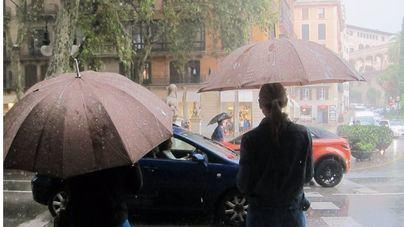 Tormentas fuertes en Mallorca con más de 60 litros por metro cuadrado caídos en Capdepera