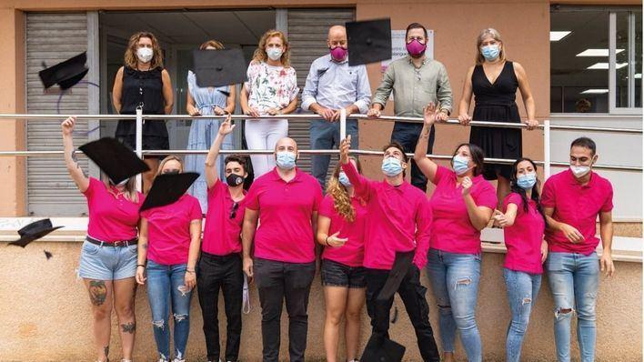 Diez jóvenes finalizan el programa 'Marratxí Administra'