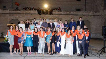 La Escuela Universitaria Felipe Moreno celebra el acto de graduación de la promoción 2016-2020
