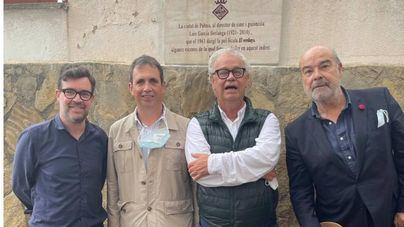 La calle de sa Portassa, en Palma, ya cuenta con una placa dedicada a Berlanga