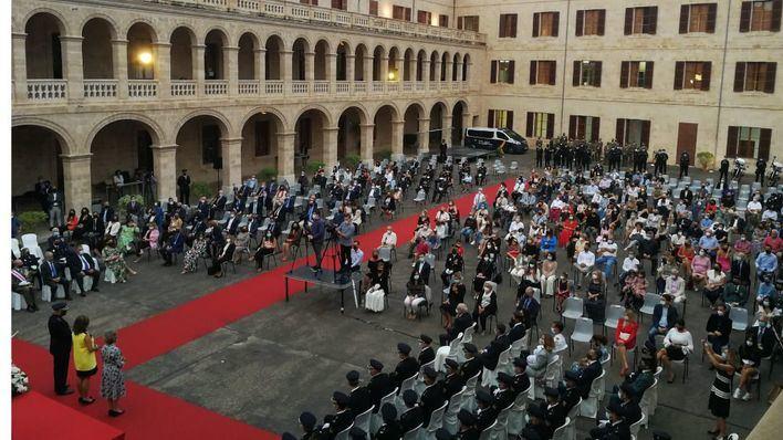 La Policía Nacional celebra en Palma la festividad de Los Ángeles Custodios