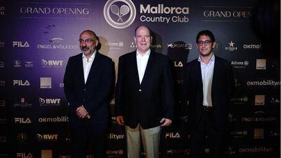 Alberto de Mónaco, entre los invitados a la inauguración del Mallorca Country Club