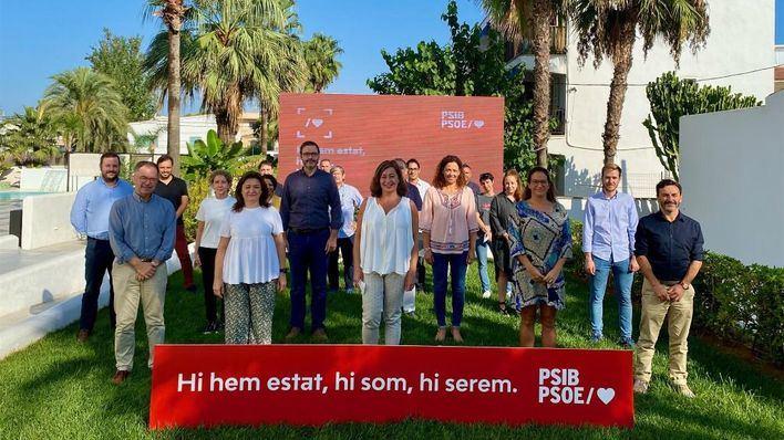 Reto demográfico, federalismo y sostenibilidad, ejes del PSIB en el Congreso Federal del PSOE