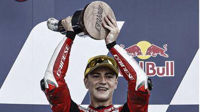 El mallorquín Izan Guevara consigue su primera victoria en Moto3
