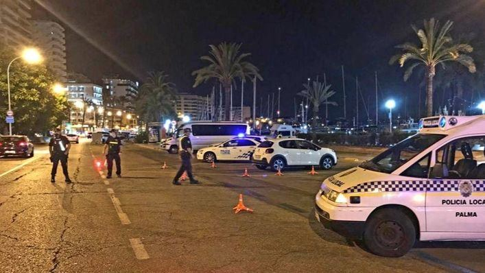 La Policía cierra un bar cercano del Paseo Marítimo por exceder el CO2