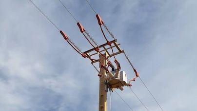 Endesa cambia dos líneas eléctricas para proteger a las aves en Porreres