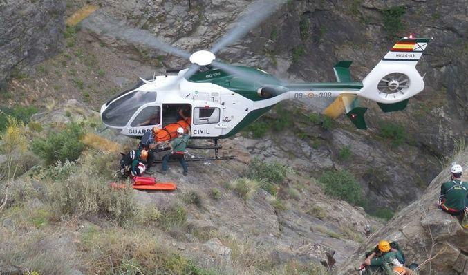 Rescatan a un montañero en el Puig del Roig tras fracturarse el tobillo