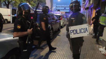 Operación de la Policía Nacional en Son Gotleu contra el tráfico de drogas