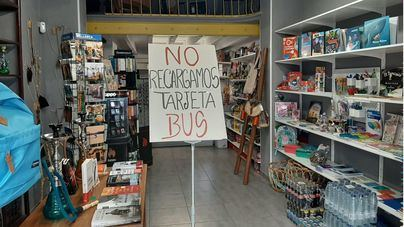 La odisea de recargar la tarjeta de la EMT en Palma