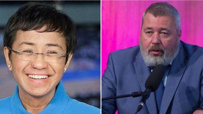 Los periodistas Maria Ressa y Dmitry Muratov ganan el Nobel de la Paz