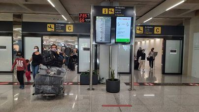 Más de 4.700 vuelos previstos en los aeropuertos de Baleares durante el 'puente del Pilar'