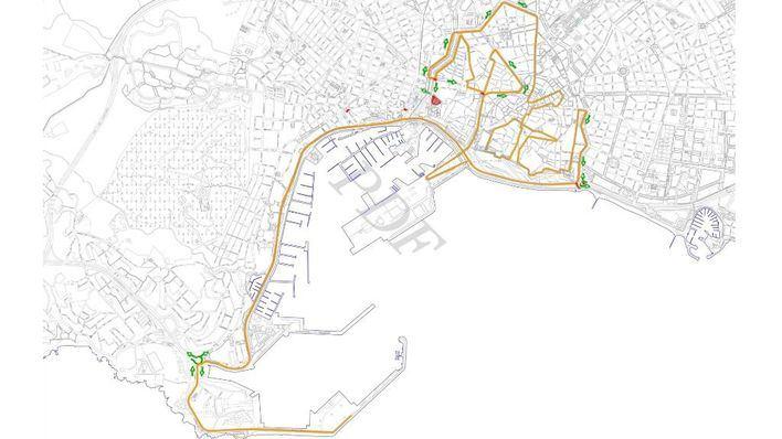 Cortes de tráfico por la celebración de la Zafiro Palma Marathon