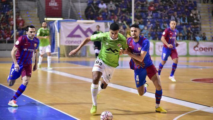 El Palma Futsal 'se come' al Barça en Son Moix