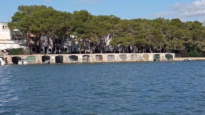 Felanitx pide a Ports IB a que actúe 'de forma urgente' en las barracas de Portocolom