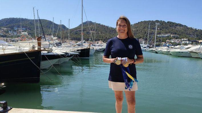 La mallorquina Violeta del Reino se proclama campeona del mundo de vela adaptada