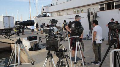 La serie de Netflix 'The Crown' rueda parte de su quinta temporada en Mallorca