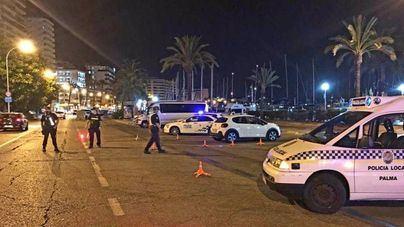 Baja el número de botellones en Palma tras la reapertura del ocio nocturno